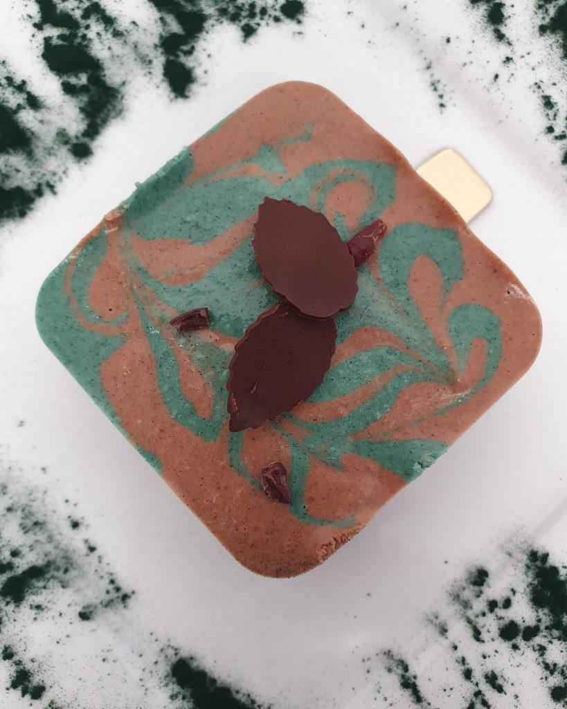 Raw mint cacao swirl